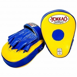 YellowBlue Curved Focus Mitts1