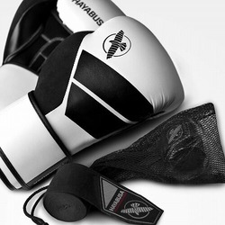 S4 Boxing Gloves  Hand Wraps Kit white1
