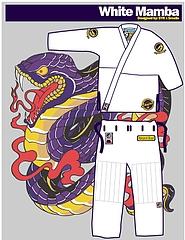 Shoyoroll柔術衣 Batch#8 White Mamba