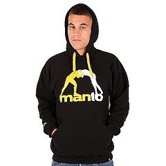 MANTO hoodieCLASSIC black1