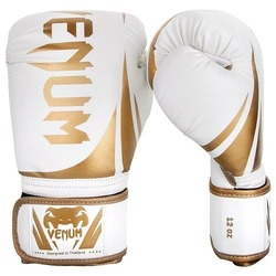 Challenger 20 Boxing Gloves whitegold 1