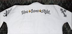 Live Love Fight 柔術衣 Gloryシリーズ