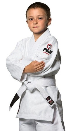 All Around Kids BJJ Gi White 1