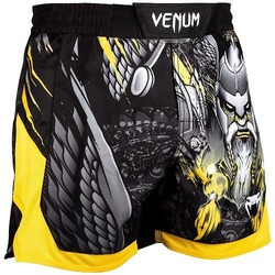 Viking 20 Fightshorts BlackYellow 1