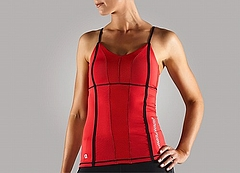 Pump Cami Ladys Red Front