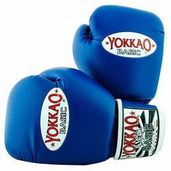 Basic Blue Muay Thai Boxing Gloves 1