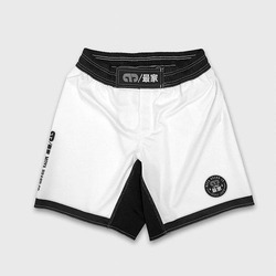 TRAINING SHORT SCRAP WHITE 1