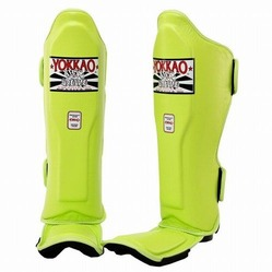 Matrix Lime Punch Shin Guards 3