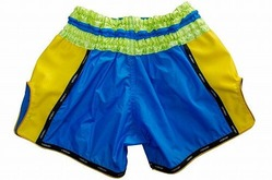 YOKKAO Airtech Carbon Sky blueYellow shorts 2