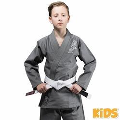 Contender Kids BJJ Gi grey1