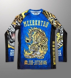 Fire Tiger Rashguard1