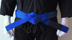 BLACK SAINT blue Belt 1