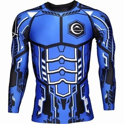 ROBO Rash Guard Blue 1