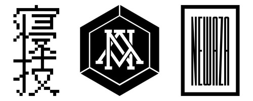 NEWAZA-LOGO-SET-DIGITAL-KANJI-HEXAGON-BOX