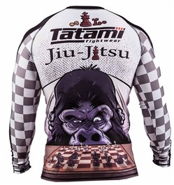 Chess Gorilla Rash Guard 2