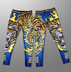 Fire Tiger Grappling Spats1