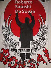 BULL TERRIER Tシャツ ホベルト・ソウザモデル