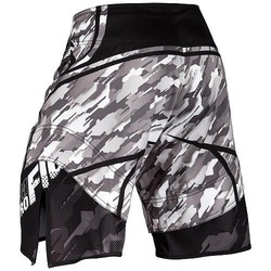 Tecmo Fightshorts blackgray3