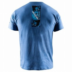 Samurai T-Shirt blue 3a