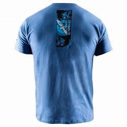 Samurai T-Shirt blue 3a
