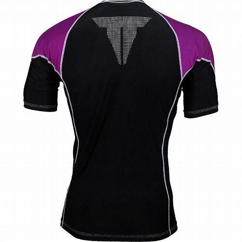 Shortsleeve Rashguard Purple2