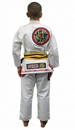 Built To Submit Deluxe Kids White Gi 2