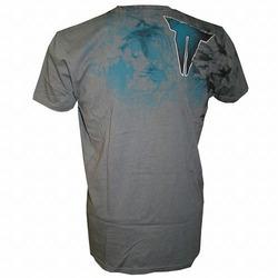Throwdown Gazelle T-Shirt Chacoal2