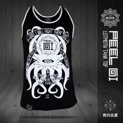 タコ LEITMOTIV BJJ Black Belt Tank Top 1