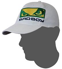 BADBOY マウリシオ・ショーグンモデル キャップ 白
