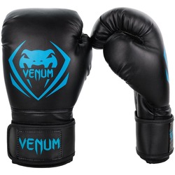 Contender Boxing Gloves blackcyan1