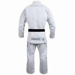 Stealth Pearl Weave Jiu Jitsu Gi white 2a