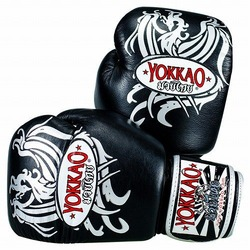 Phoenix Boxing Gloves Blacksilver1