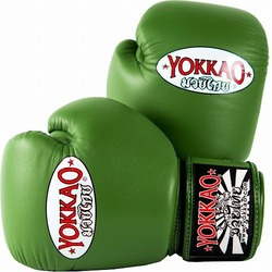 Matrix Green Boxing Gloves 1