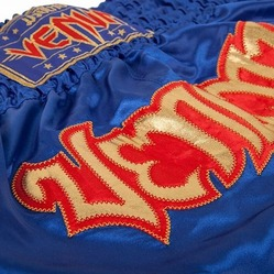 Short de Boxe Thai Venum Tribal Blue3