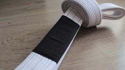 BLACK SAINT white Belt 2
