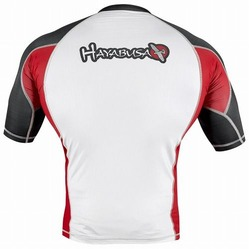Elevate Rashguard Shortsleeve White 3a