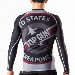 Top Gun Classic Rash Guard black 2