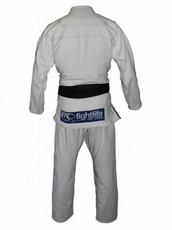 Limited Edition Fight Life Gi White 2