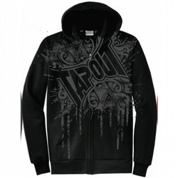 Knocked Out Zip Hood BK1