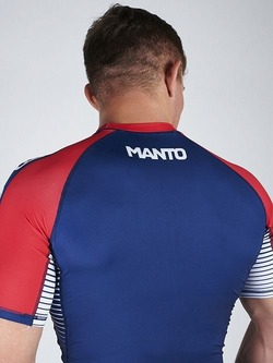 MANTO rashguard STRIPE navy blue3