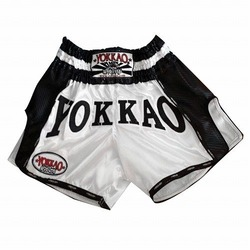 YOKKAO White Carbon Muay Thai Shorts 1