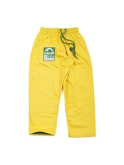 Junior 20 Youth BJJ Gi yellow 2