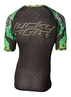 NEW Lucky Gi Shamrock Rash Guard 2