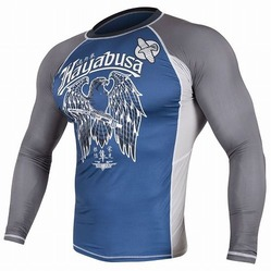 Showdown Rashguard Longsleeve Blue-gray 1a