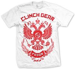 CLINCH GEAR Tシャツ ヒョードル ストライクフォース 白