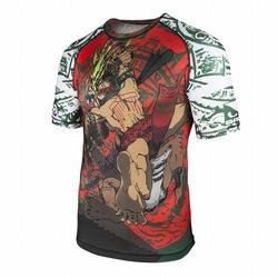 Warrior Society Rash Guard green1 (1)