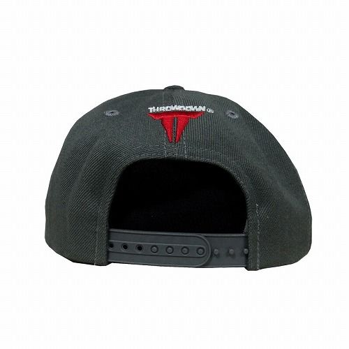 Throwdown Anytime Anyplace Snapback Hat (Charcoal)2
