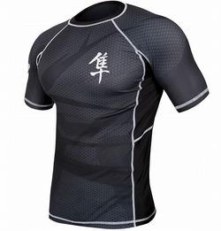 Rash Short Sleeve BK1