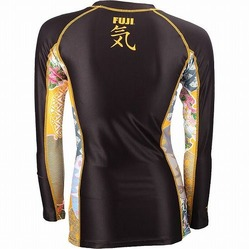 Fuji Women's Kimono Rashguard BK Gold2