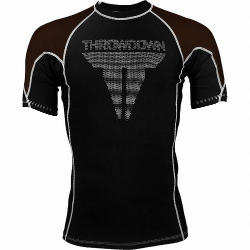 Shortsleeve Rashguard Brown1